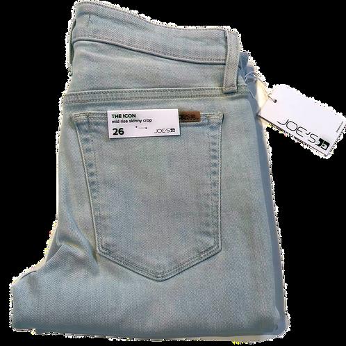 Womens Joe Jeans The Icon Mid-Rise Skinny Crop Jean (HFJOE-45CL7HAY5919-HAY)