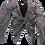 Thumbnail: Womens Ronny Kobo Jaden Metallic Cropped Blouse (HFRK-932722MTF)