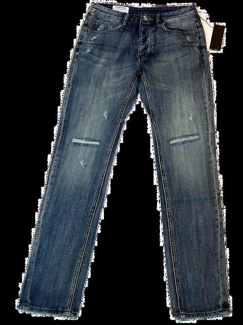Mens One Teaspoon Mr Whites Jeans,Rigid,Low Slung,Tapered Leg (HFOT-19834AREG)