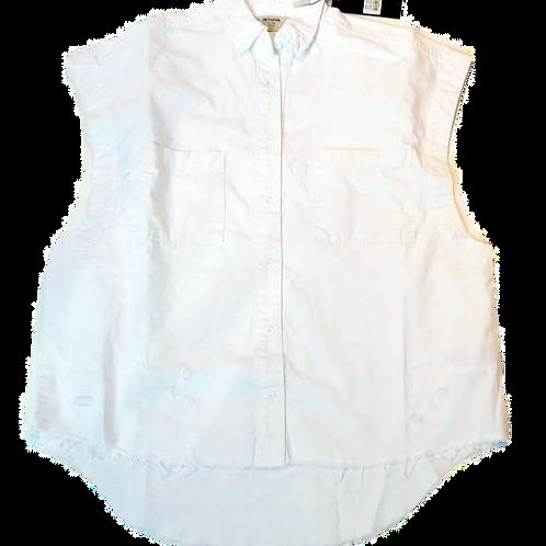 Womens One Teaspoon Tommy Cut Off Shirt (HFOT-23031)