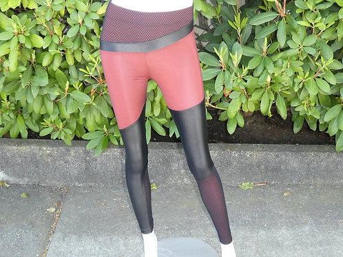 Womens Koral Deuces Shantung High Rise Leggings (HFKOR-A2474HQ11)