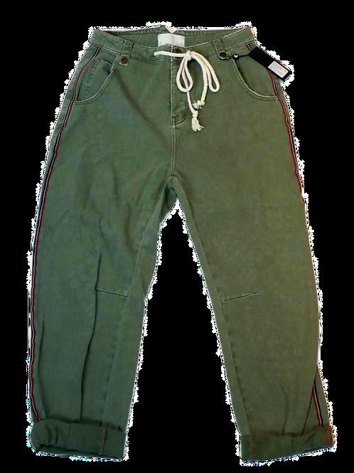 Womens One Teaspoon Safari High Waist Khaki Relaxed Jean (HFOT-22948)