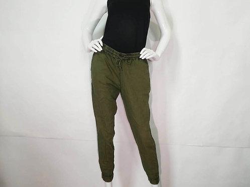 Kavu Womens Malia Military Green Mid-Rise Jogger (ELAV-KA6106-60)