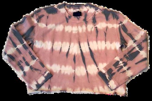 Womens Joe Jeans Tie Dye Cropped Sweatshirt (HFJOE-45JWSPTD1043-TDP)