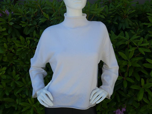 Womens One Grey Day Cashmere Pullover (HFOGD-40OGD814)