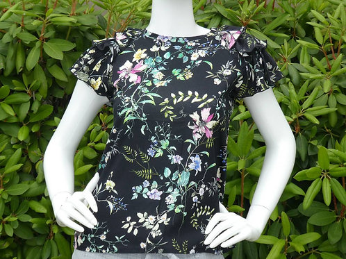 Womens Generation Love Carrie Floral Ruffle Top (HFGL-SU20214)