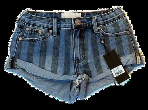 Kids One Teaspoon Stripe Bandit Shorts (HFOT-21851)
