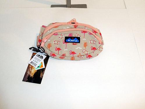 Kavu Spectator Belt Bag Fanny Pack Accessory Chillin Flamingo (ELAV-9204-1182)