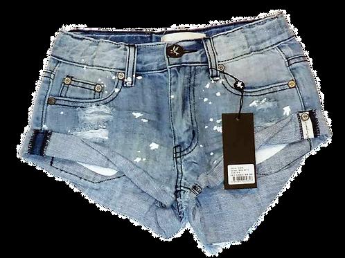 Kids One Teaspoon Cult Classic Denim Shorts (HFOT-21676)