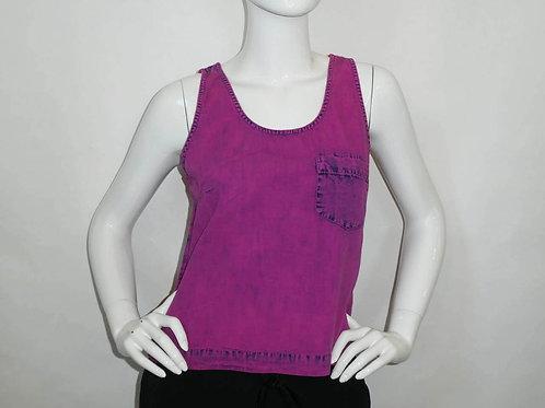 Kavu Womens Kamea Tank Button Back - Hot Pink (ELAV-KA2120-76)