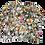 Thumbnail: Womens Generation Love Jada Floral Silk Blouse (HFGL-SP20242)