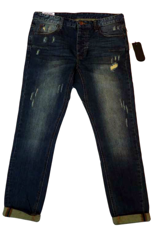 Mens One Teaspoon Mr Blues Jeans,Stretch,LowSlung,Skinny Leg (HFOT-19826BLONG)