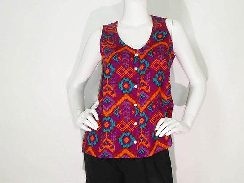 Kavu Womens Beryl Flow'n Sleeveless Button Blouse (ELAV-KA2040-539)