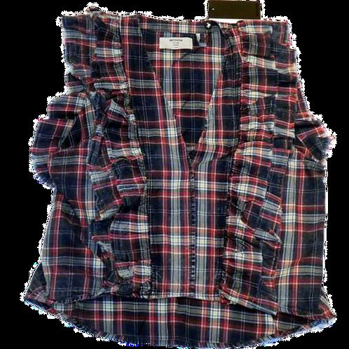 Womens One Teaspoon Vintage Check Sofia Shirt (HFOT-22690)