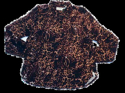Womens One Teaspoon Big Cat Ringo Shirt (HFOT-22611)