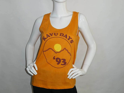 Kavu Womens Heartland Tank Sunset Gold Bright Jade  (ELAV-KA2044-1112)