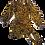 Thumbnail: Womens Ronny Kobo Giorgia Leopard Puff Shoulder Wrap Dress (HFRK-9681408LJQ)