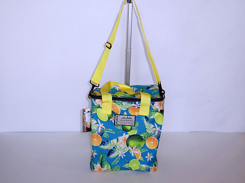 Kavu Insulated Takeout Tote Ocean Citrus W/Adjustable Strap (ELAV-9186-1169)