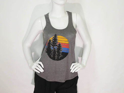 Kavu Womens Don't Sweat It Tank Coal (ELAV-KA2101-756)
