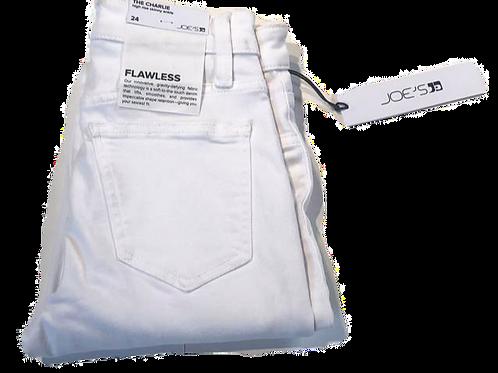 Womens Joe Jeans Charlie Skinny Ankle Btn Fly Cut Hem Jean (HFJOE-45TDCWHT5748)
