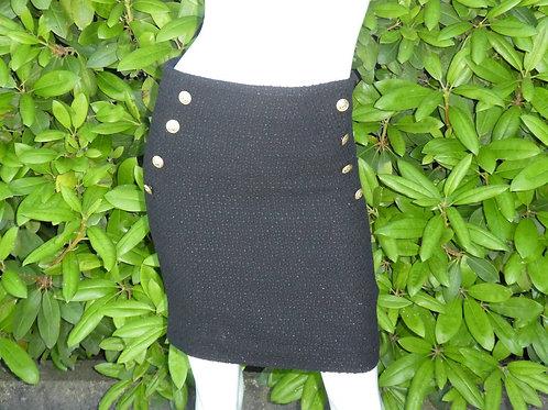 Womens Generation Love Adi Tweed Black Skirt (HFGL-F19513)