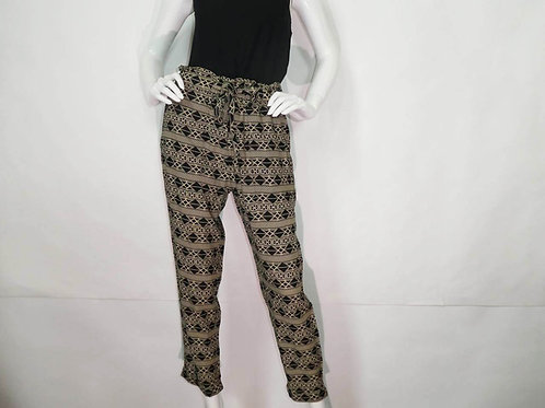 Kavu Womens Tiba Onyx Inlay Slim Fit High Waist Pant (ELAV-KA6104-1234)