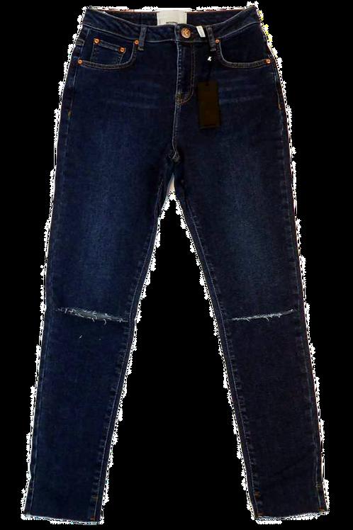 Womens One Teaspoon Freebirds Super High Waist Skinny Jean (HFOT-22600)