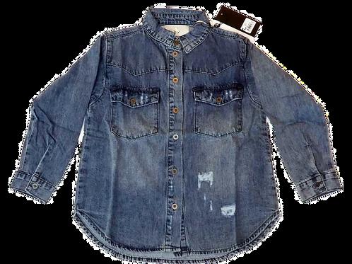 Kids One Teaspoon Vintage Denim Shirt (HFOT-21137)