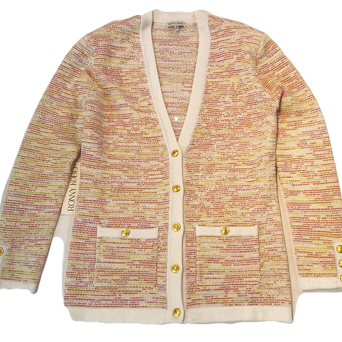 Womens Ronny Kobo Chavri Tweed Cardigan Multicolour (HFRK-73020TWB)