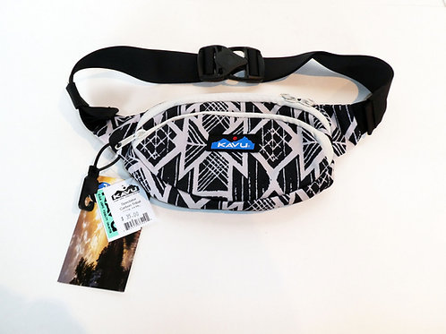 Kavu Spectator Belt Bag Fanny Pack Accessory Carbon Tribal (ELAV-9065-1175)