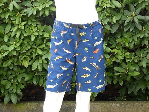 Kavu Mens Salty Sailor Keep Fishn Shorts/Swim Shorts-Quick Dry (ELAV-KA485-1188)