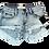 Thumbnail: Kids One Teaspoon Bonita Low Waist Denim Shorts (HFOT-21667)
