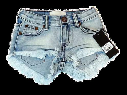 Kids One Teaspoon Bonita Low Waist Denim Shorts (HFOT-21667)