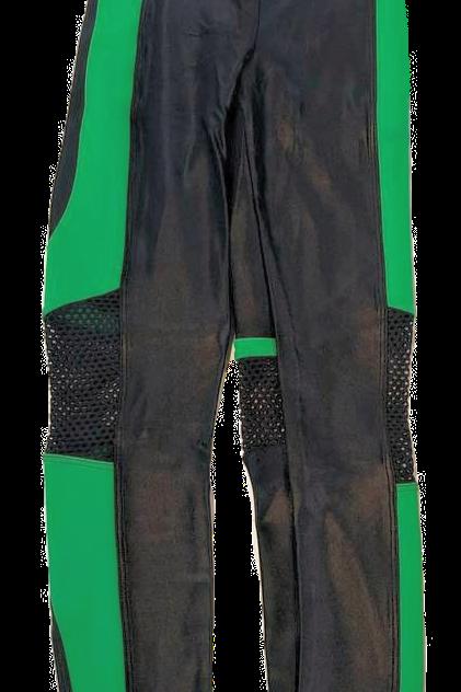 Womens Koral Emblem Infinity Cropped Leggings (HFKOR-A2140ES04)