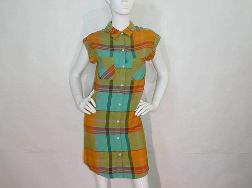 Kavu Womens Makayla Golden Straw Dress (ELAV-KA6082-1131)