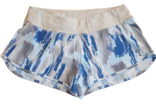 "Tasc Performance Womens Airflow 2.5"" Runnning Printed Shorts (ELAV-TW669P)"