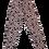 Thumbnail: Womens Beach Riot Cara Twist Waist Pink Leopard Leggings (HFBR-BR1326SP20)