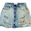 Thumbnail: Womens One Teaspoon Viper Mini Skirt (HFOT-23001)