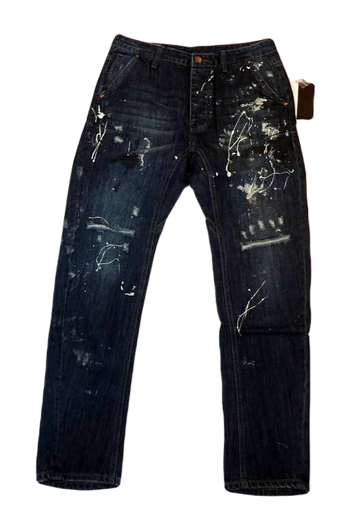 Mens One Teaspoon Mr Golds Jeans,Rigid,Low Slung,Relaxed Fit (HFOT-19831BREG)