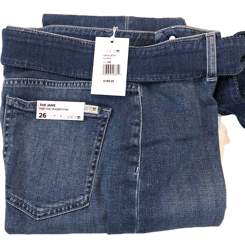Womens Joe Jeans The Jane High-Rise Staight Crop Jean (HFJOE-45CR7ALS5714-ALS)