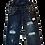 Thumbnail: Kids One Teaspoon Overall Hooligan Jeans (HFOT-21124)
