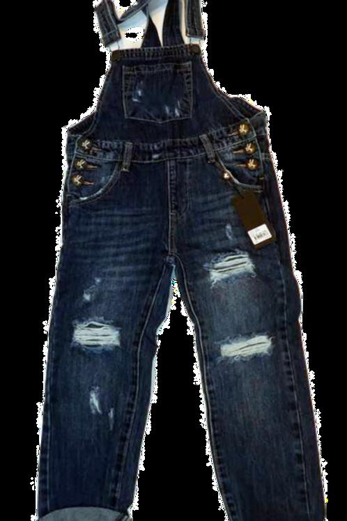 Kids One Teaspoon Overall Hooligan Jeans (HFOT-21124)