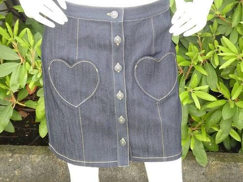 Womens Cinq a Sept.nyc Vivien Heart Pocket Skirt (HF5A7-ZS1841502Z)