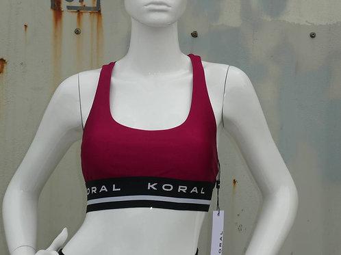 Womens Koral Fame Limitless Plus Sports Bra (HFKOR-A302Q16)