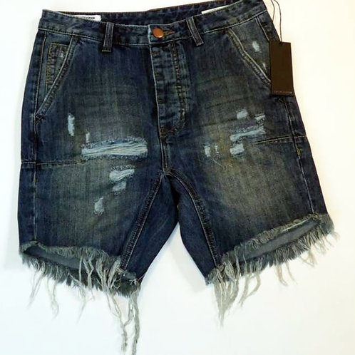 Mens One Teaspoon Mr Pinks Shorts, Low Slung,Drop Rise,Relaxed Fit(HFOT-19225B)