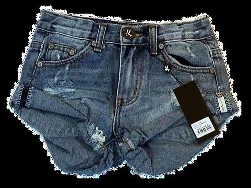 Kids One Teaspoon Bandit Denim Shorts (HFOT-21126)