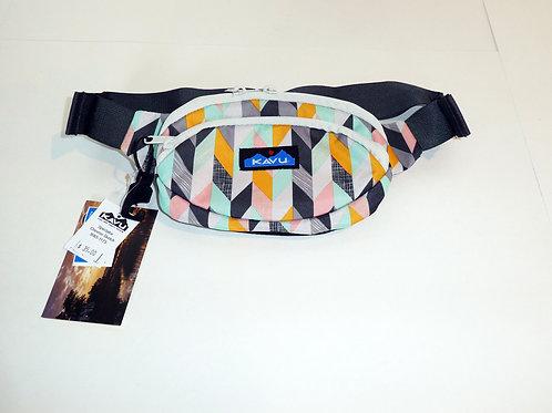 Kavu Spectator  Belt Bag Fanny Pack Accessory Chevron Sketch (ELAV-9065-1173)