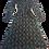 Thumbnail: Womens Ronny Kobo Tula Plunge Neck LS Midi Dress (HFRK-0381457CAL)
