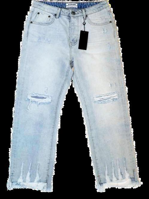 Womens One Teaspoon Hooligans Low Waist Relaxed Fit Jean (HFOT-20698)