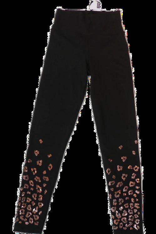 Womens Beach Riot Ombre Rose Shimmery Leopard Sparkle Leggings (HFBR-BR2924SP20)